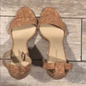 4ba8862e199353 Pelle Moda Shoes - Pelle Moda Bonnie  Natural Cork Sz 9